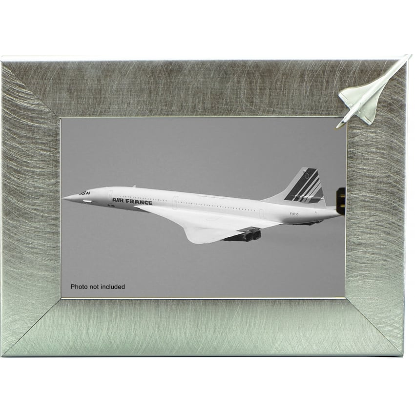 Pewter Photo Frame - Concorde