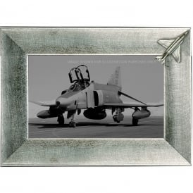 Pewter Photo Frame - F-4 Phantom II