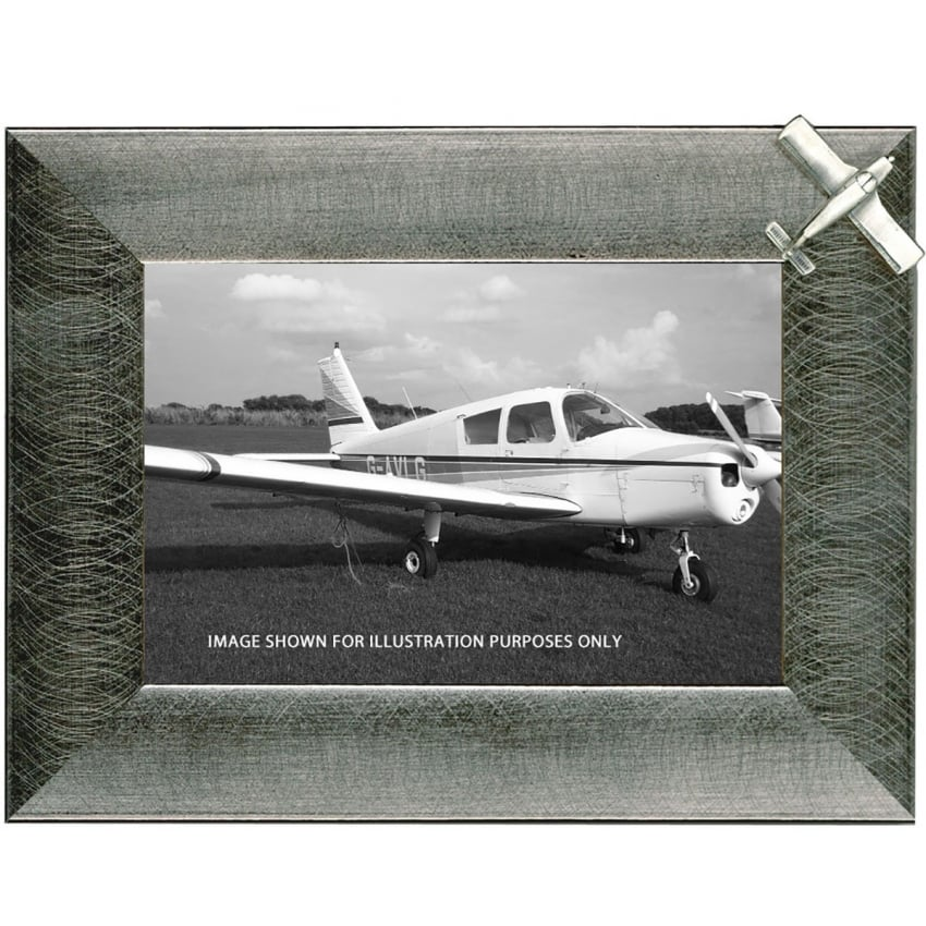 Pewter Photo Frame - Piper Cherokee