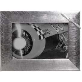 Pewter Photo Frame - Propeller