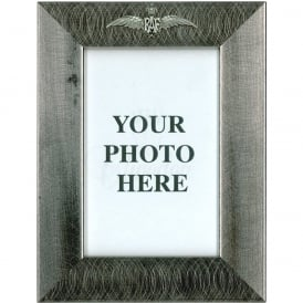 Pewter Photo Frame - RAF Wings