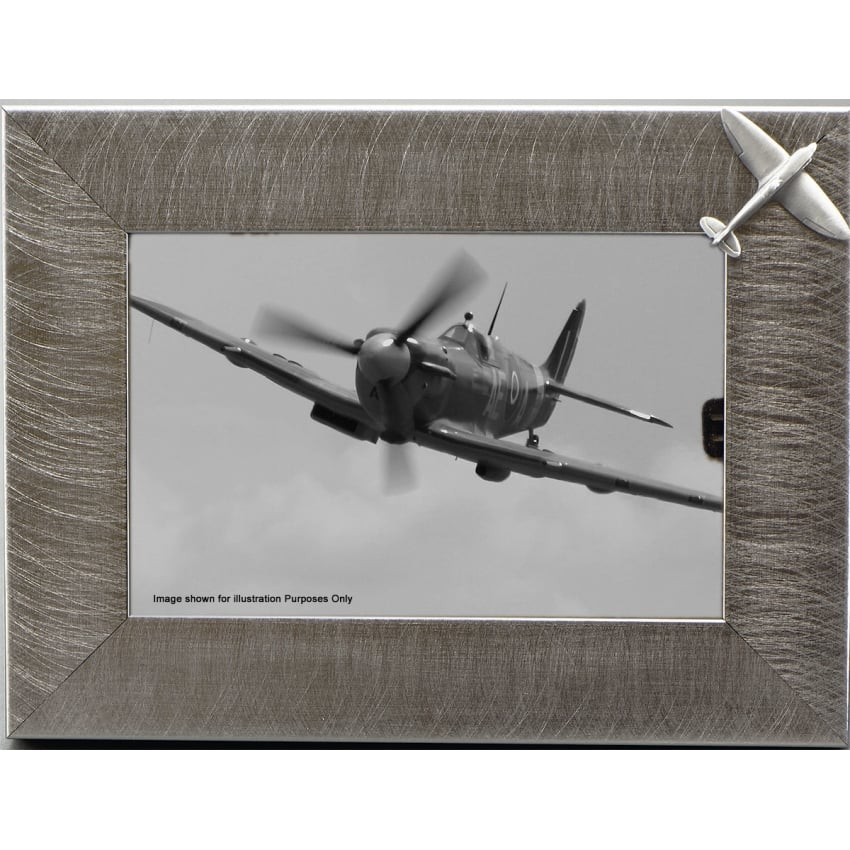 Pewter Photo Frame - Spitfire