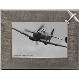 Clivedon Pewter Photo Frame - Spitfire