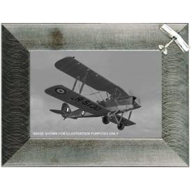 Clivedon Pewter Photo Frame - Tiger Moth