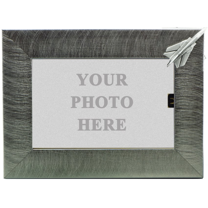 Pewter Photo Frame - Tornado