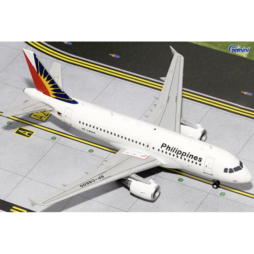 Philippine Airlines Airbus A319 Diecast Model - Scale 1:200