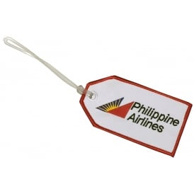 Philippine Airlines Embroidered Baggage Tag