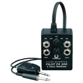 Pilot Communications Pilot PA200T Intercom with Mobile Phone Input