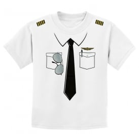 Pilot Uniform Childrens T-Shirt