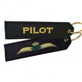 ACI Collectables Pilot Wings Embroidered Keyring