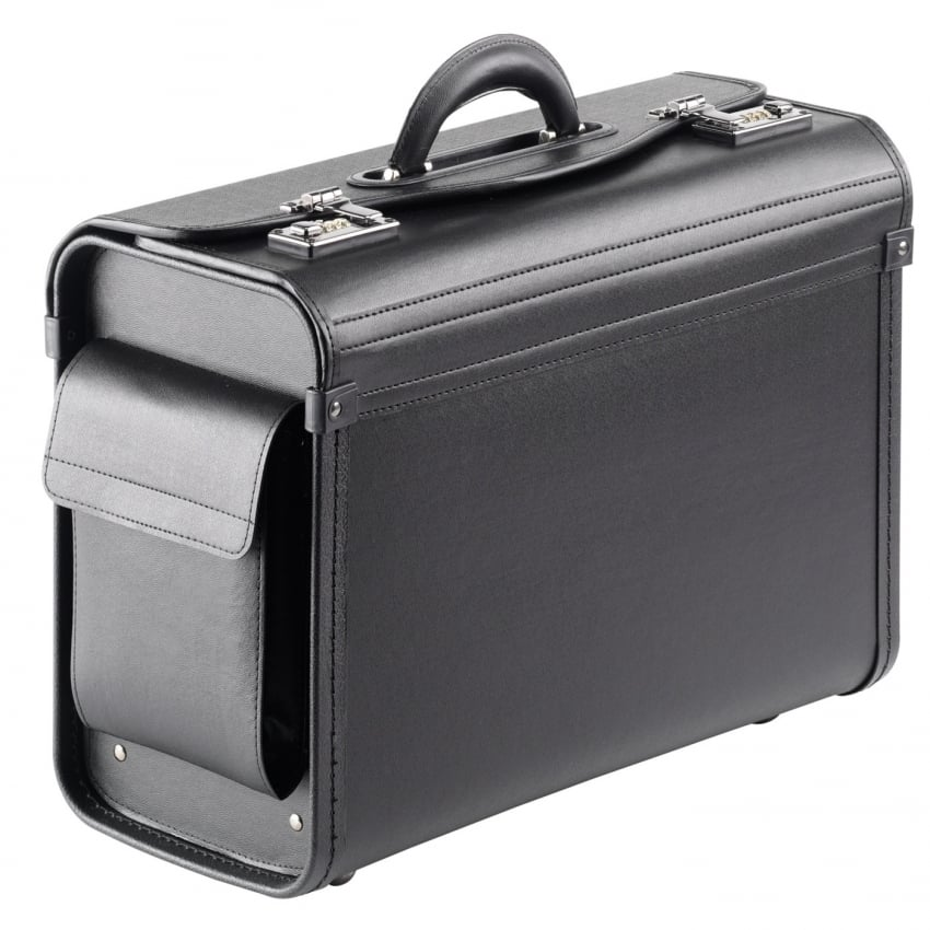 Pilots Deluxe Vinyl Flight Case