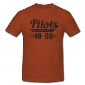 Gifts For Aviators Pilots Looking Down on People Since 1903 T-Shirt