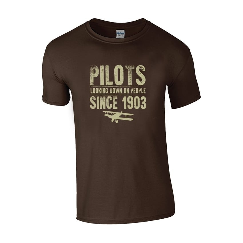 Pilots Looking Down On People Since 1903 T-Shirt