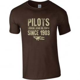 Chocks Away Pilots Looking Down On People Since 1903 T-Shirt