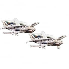Piper Aeroplane Cufflinks