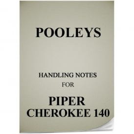 Piper Cherokee 140 Handling Notes