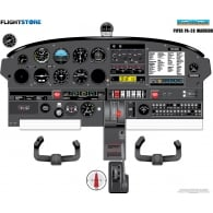 Piper PA-28 Warrior Aircraft Cockpit Poster