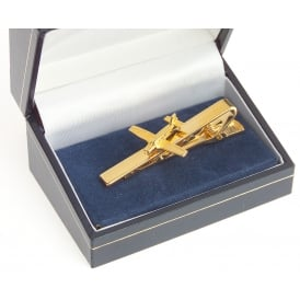 Piper PA28 Cherokee Tie Bar - Gold