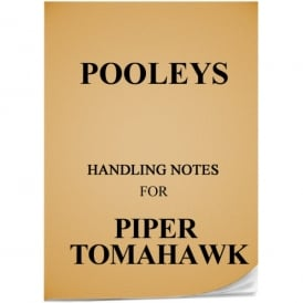 Pooleys Piper Tomahawk Handling Notes