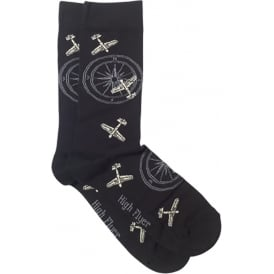 Planes and Compass Socks