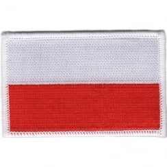 Poland Flag Iron on Patch