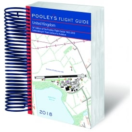 Pooleys 2017 Flight Guide Spiral Bound Edition
