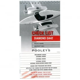 Pooleys Diamond DA42 Aircraft Checklist