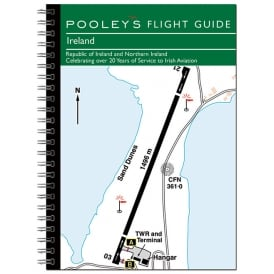 Pooleys Ireland Flight Guide 2017 - Spiral Bound