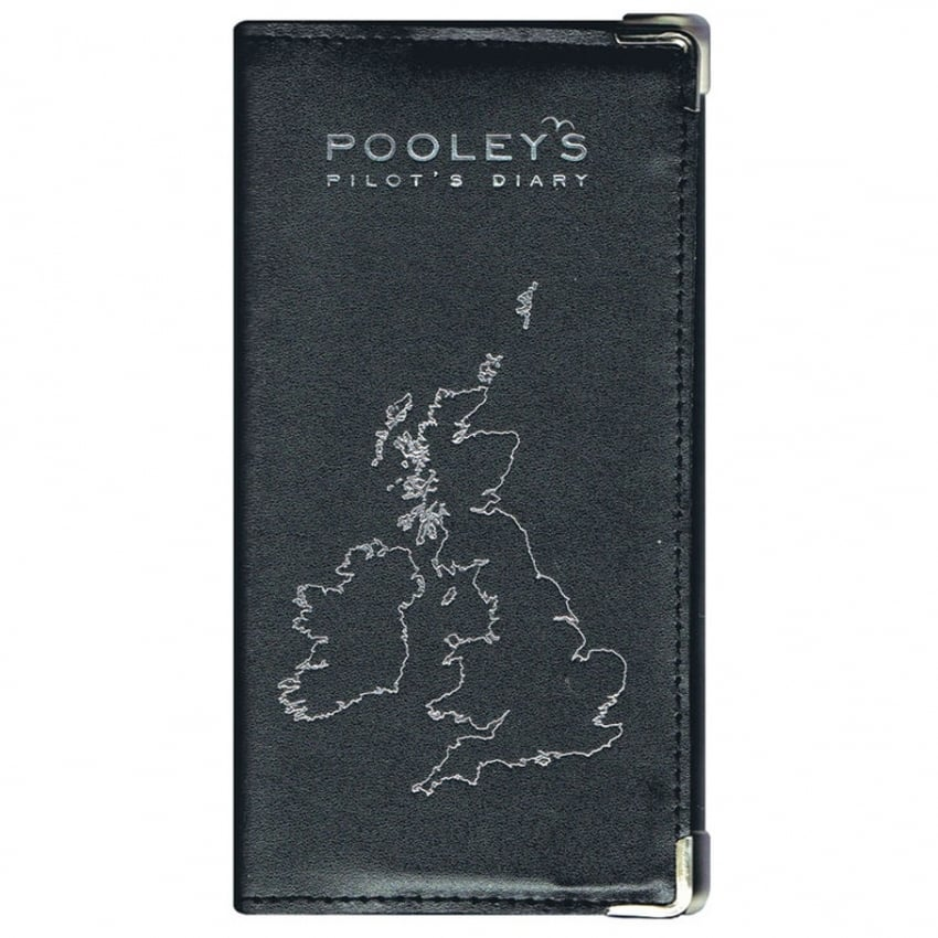 Leather Diary Cover - Black