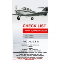 Pooleys PA 38 Aircraft Checklist