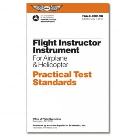 ASA Practical Test Standards: CFI - Instrument