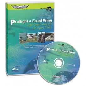 ASA Preflight a Fixed Wing Light-Sport Aircraft for Sport Pilots DVD