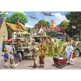 Gibsons Preparations for D-Day Jigsaw Puzzle (1000 pieces)