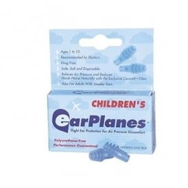 Pressure Regulating Earplugs - Childrens