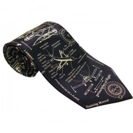 Tie studio Principles of Flight Silk Tie