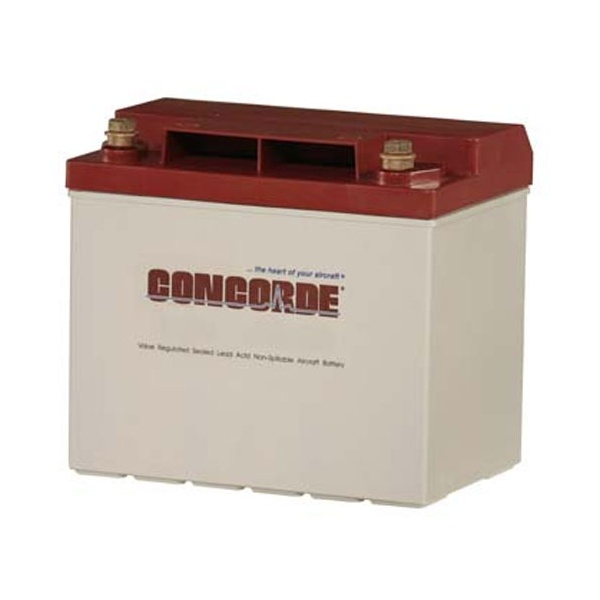 concorde battery rg25xc 12v 24ah. Black Bedroom Furniture Sets. Home Design Ideas