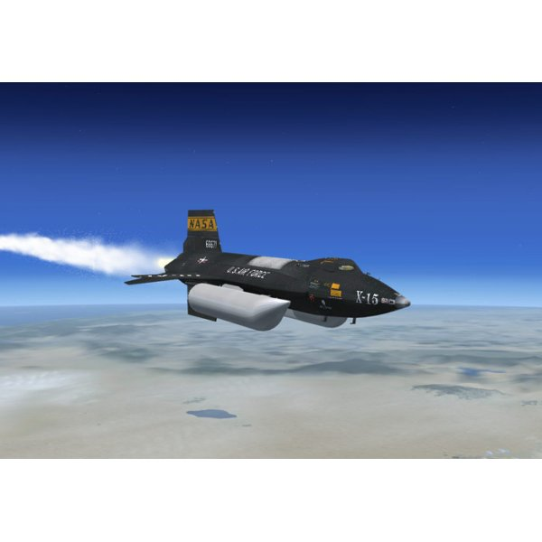 Xtreme Prototypes X-15A-2 Add On Rocket Aircraft For FSX ...