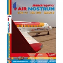Iberia Air Nostrum CRJ-200 DVD