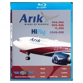 Arik Air A340-500 Blu-Ray