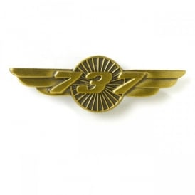 Boeing 737 Wings Pin Badge