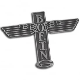 1930s Boeing Totem Logo Pin Badge