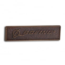 Boeing Bronze Signature Pin