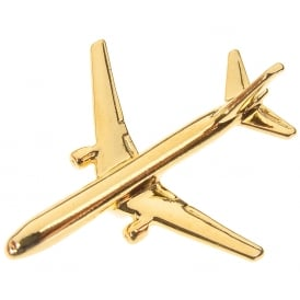 Boeing 767-300 Boxed Pin - Gold