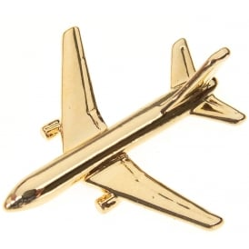 Boeing 767-200 Boxed Pin - Gold