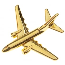 Boeing 737-600 Boxed Pin - Gold