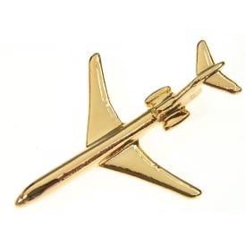 Boeing 727 Boxed Pin - Gold