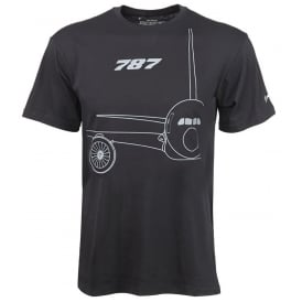 Boeing 787 Midnight Silver T-Shirt