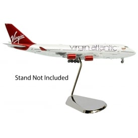 Boeing 747-400 Virgin Atlantic Ruby Tuesday Diecast Model - Scale 1:400