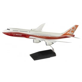 Boeing 747-8 Intercontinental Sunrise Snap Model - Scale 1:144
