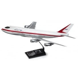 Boeing 747-100 Rollout Snap Model - Scale 1:144